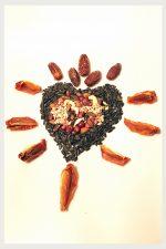 Samen, Kerne, Nüsse, Trockenfrüchte